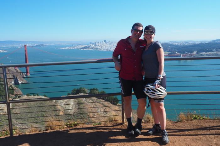San Francisco - Biking through the Golden Gate National Recreation Area