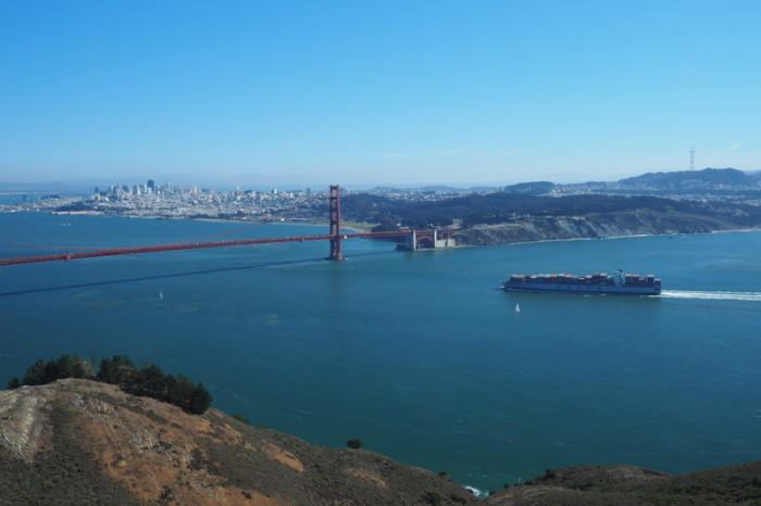 San Francisco - Views of the Golden Gate Bridge  the from  the Golden Gate National Recreation Area