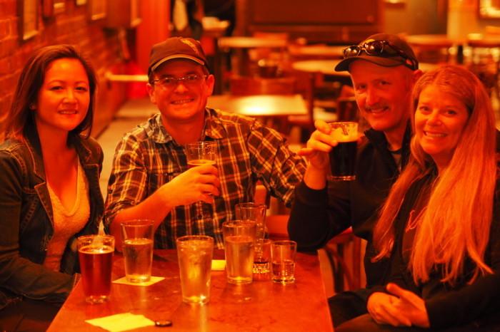 San Francisco - Enjoying a few beverages at Specs Bar