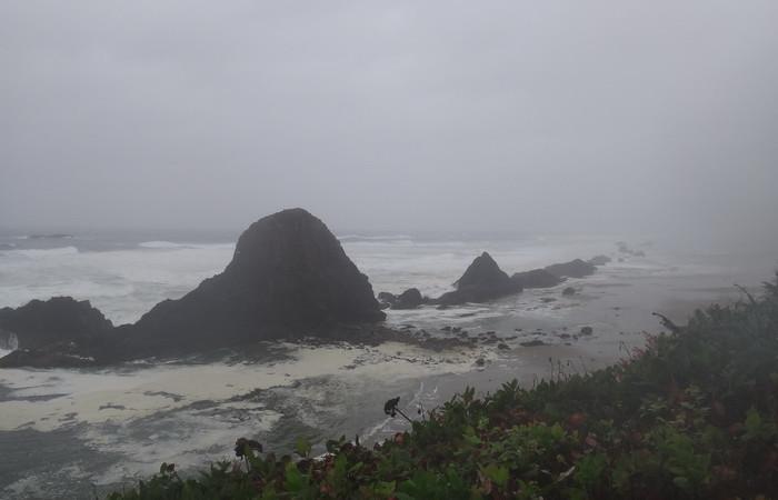 Portland to San Francisco - Seal Rock, Oregon Coast