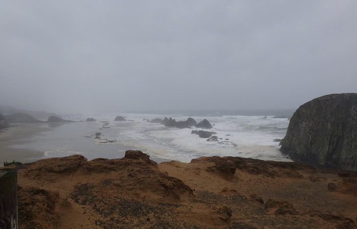 Portland to San Francisco - Seal Rock, Oregon Coast