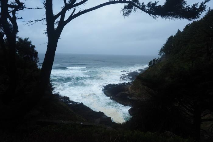 """Portland to San Francisco - """"Devils Churn"""", Cape Perpetua Scenic Area"""