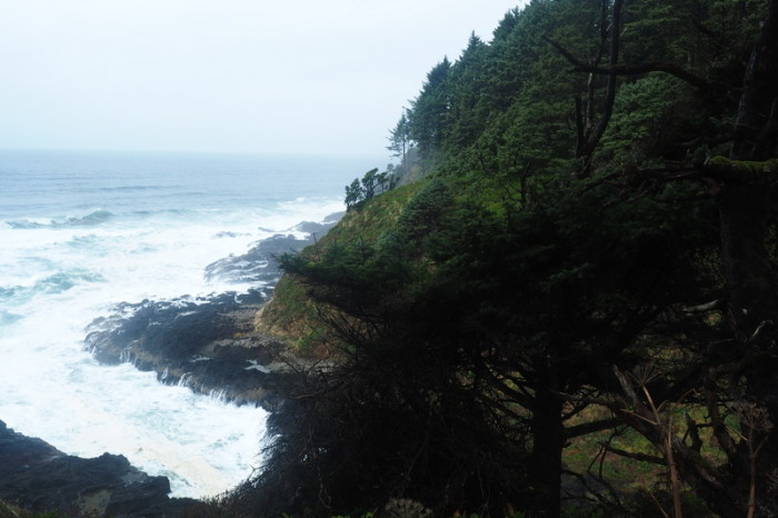 "Portland to San Francisco - ""Devils Churn"", Cape Perpetua Scenic Area"