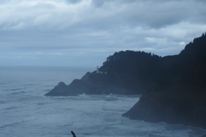 Portland to San Francisco - On the road to Florence, Oregon