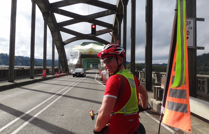 Portland to San Francisco - The Reedsport Bridge
