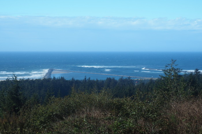 Portland to San Francisco - Views from Umpqua Lighthouse State Park, Oregon