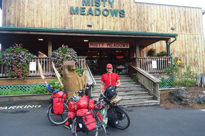 Portland to San Francisco - We stopped in at Misty Meadows to buy some Wild Huckleberry Jam!
