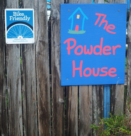 "Portland to San Francisco - The ""bike friendly"" Powder House"