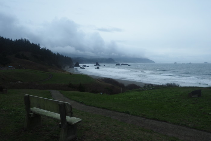 Portland to San Francisco - Misty Port Orford