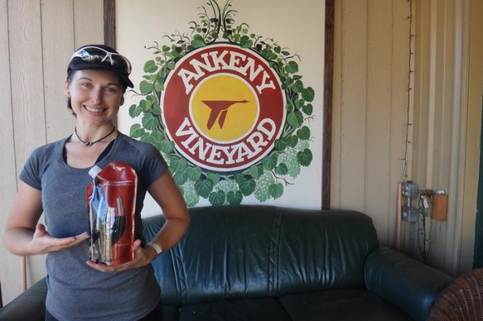 Portland to San Francisco - Wine tasting at Ankeny Vineyard