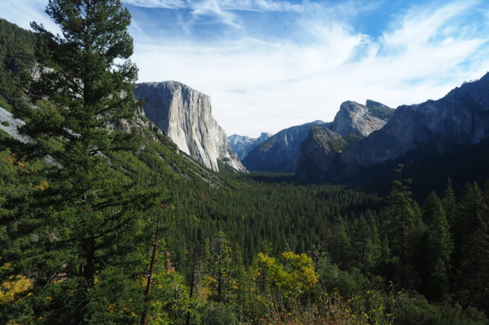 """Yosemite National Park - View from """"Tunnel View"""", Yosemite National Park"""