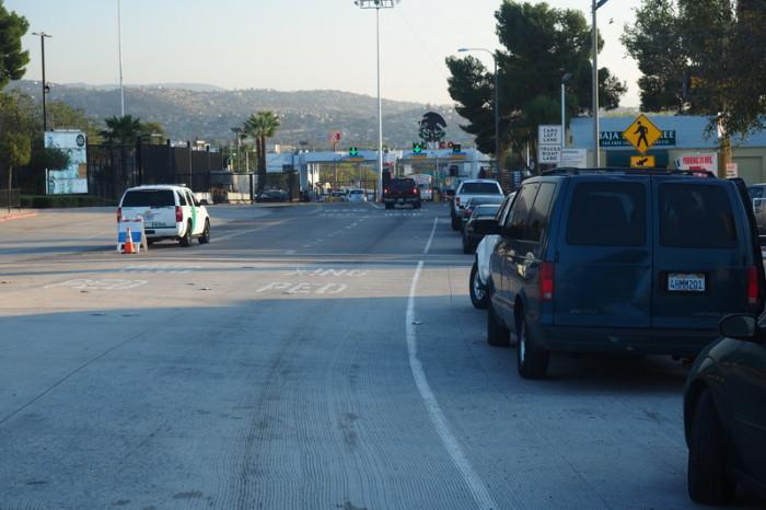 OLYMPUS DIGITAL CAMERA - Tecate Mexican Border Crossing