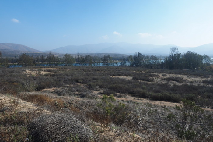 OLYMPUS DIGITAL CAMERA - View of Lower Otay Lake from Otay Lakes Road