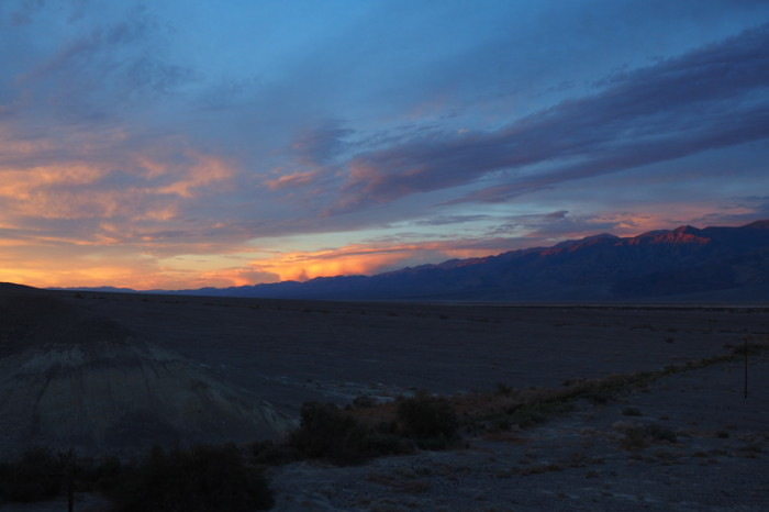 USA Road Trip - Sunrise, Death Valley National Park, California
