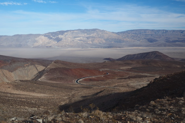 USA Road Trip - Views over Death Valley National Park, California