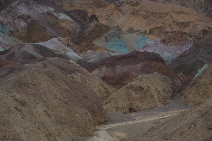 USA Road Trip - Artists Palette, Death Valley National Park, California