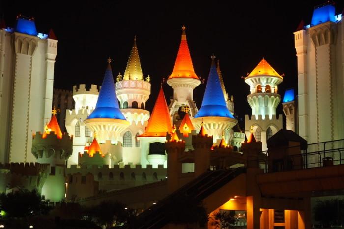 USA Road Trip - Excalibur Hotel, Las Vegas
