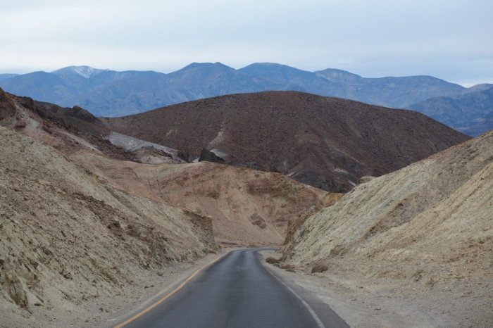 USA Road Trip - Artists Drive, Death Valley National Park, California