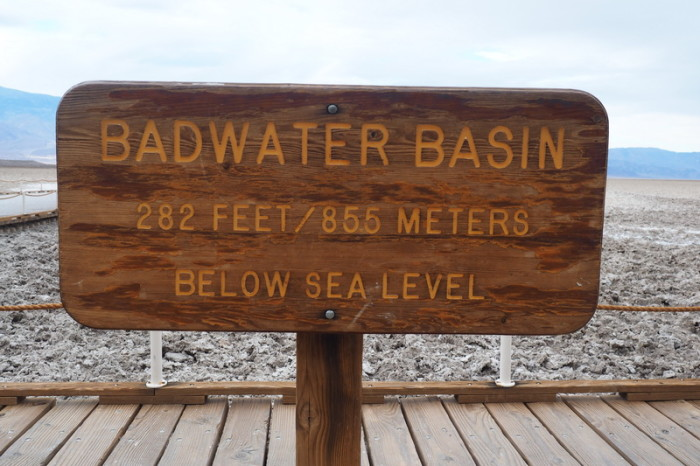 USA Road Trip - Badwater Basin, the lowest point in the USA!