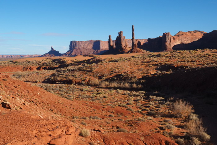 USA Road Trip - The totem pole, Monument Valley, Navajo Tribal Park