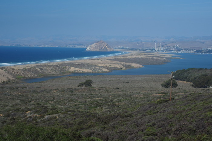 SF to LA - Views of Morro Bay from the top of Pecho Valley Road, Los Osos