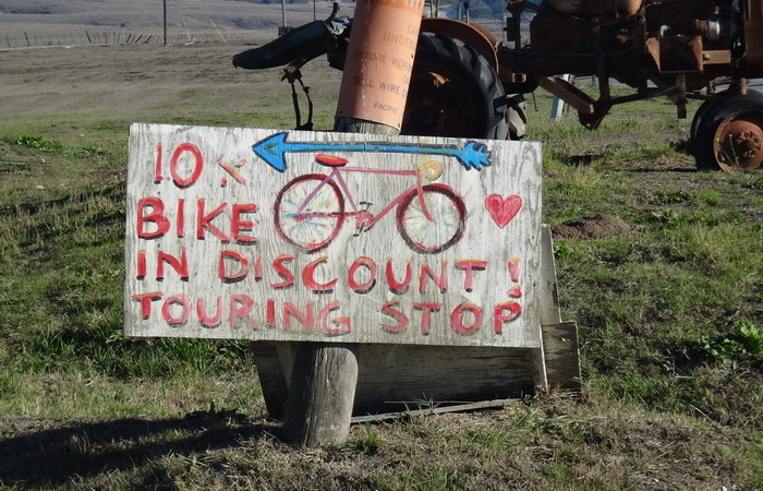 SF to LA - Cycle tourers received 10% discount at the Jam Factory!