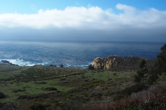 SF to LA - Rugged coastline, Big Sur