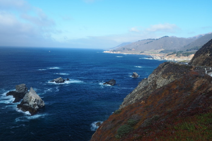 SF to LA - More gorgeous views, Big Sur