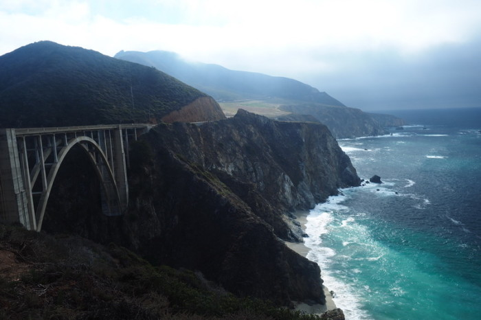 SF to LA - Bixby Bridge, Big Sur