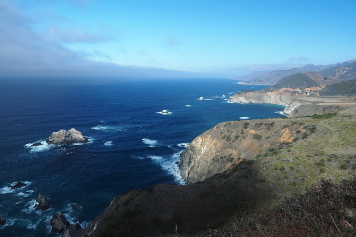 SF to LA - Stunning lookout, Big Sur