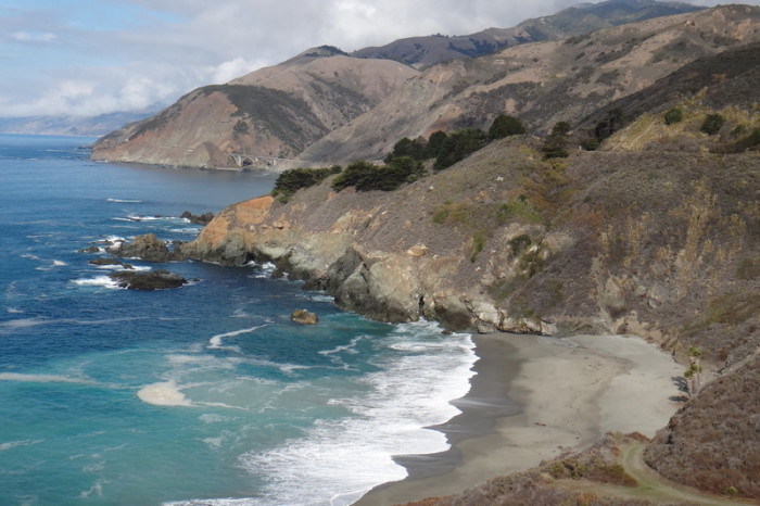 SF to LA - More beautiful beaches, Big Sur