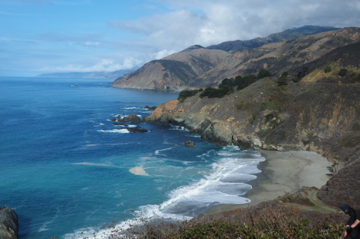 SF to LA - One of my favourite beaches along Big Sur