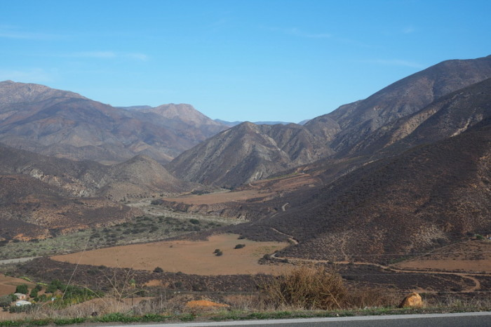 Baja California - Beautiful views on the road to Sán Vicénté