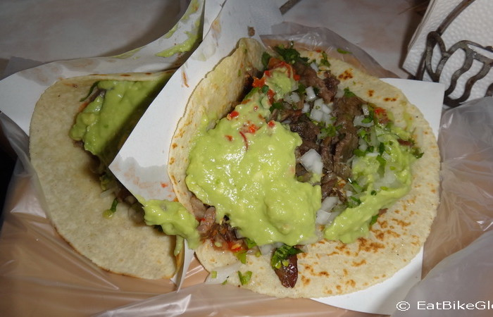 Baja California - Yum! Tacos Los Poblanos in San Quintin. Some of the best tacos we have had in Mexico!
