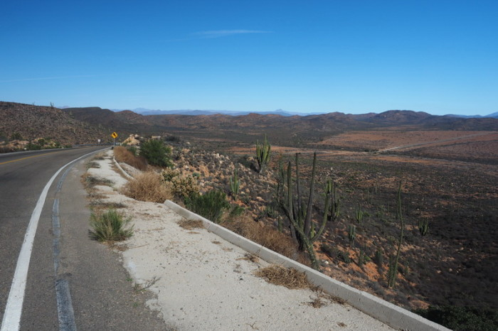 Baja California - Views from Highway 1 on Day 1 of our Central Desert crossing