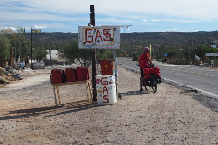 Baja California - Catavina has gas ...