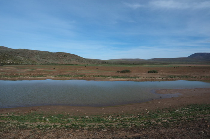 Baja California - We didn't expect to find a lake in the Central Desert!