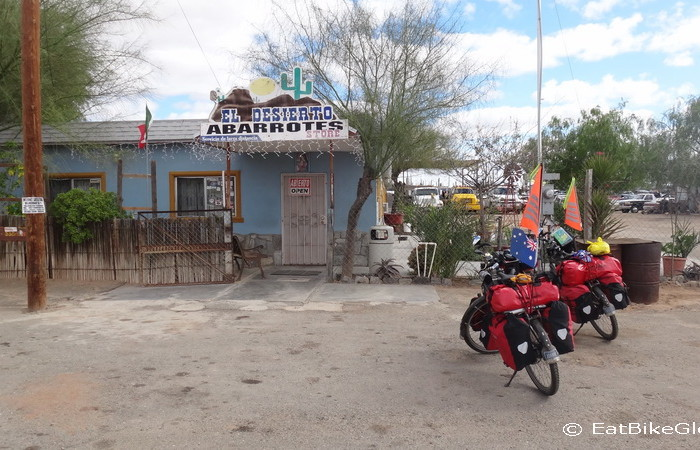 Baja California - Lunch stop on Day 3 of our Central Desert crossing