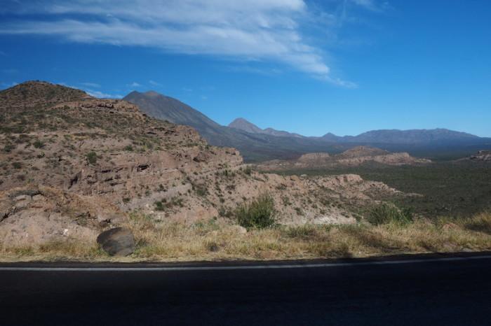 Baja California - On our way to Santa Rosalia
