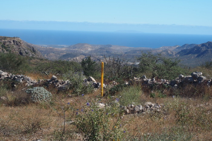 Baja California - Our first sighting of the coast on our way to Santa Rosalia