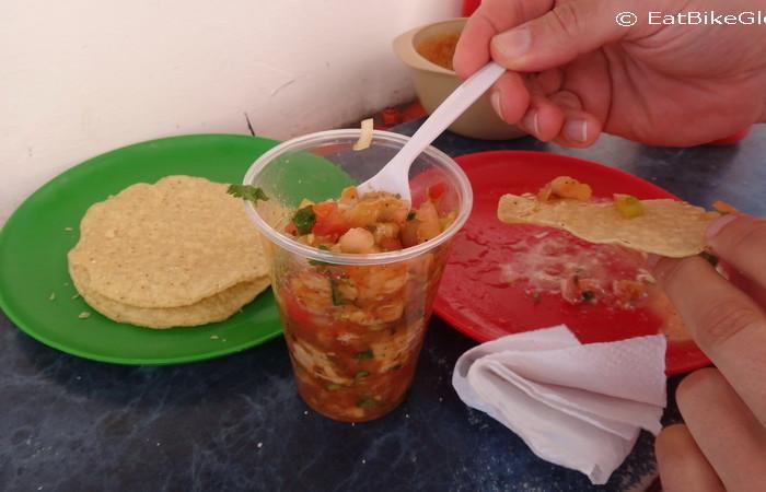 Baja California - Mmmh ... ceviche!
