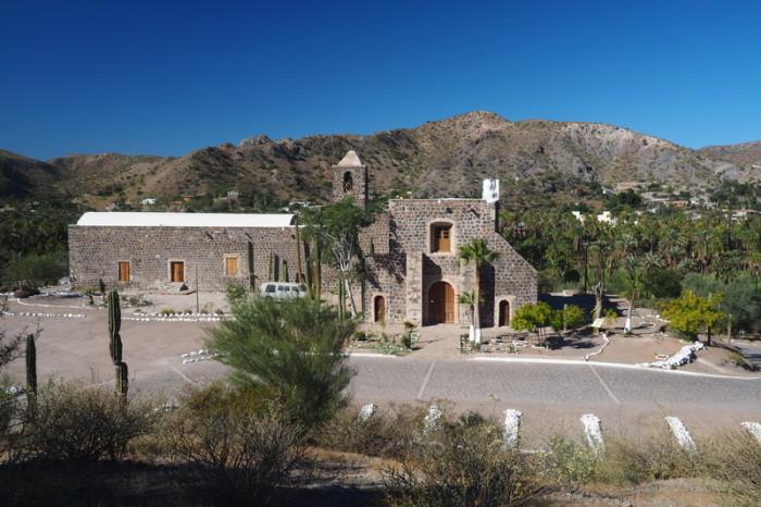 Baja California - Mision Santa Rosalia de Mulege, Mulege