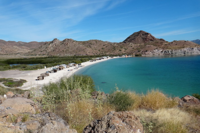 Baja California - More gorgeous beaches on the way to Loreto
