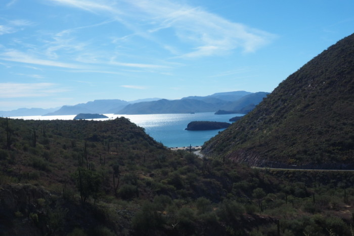 Baja California - Coastal views on the way to Loreto