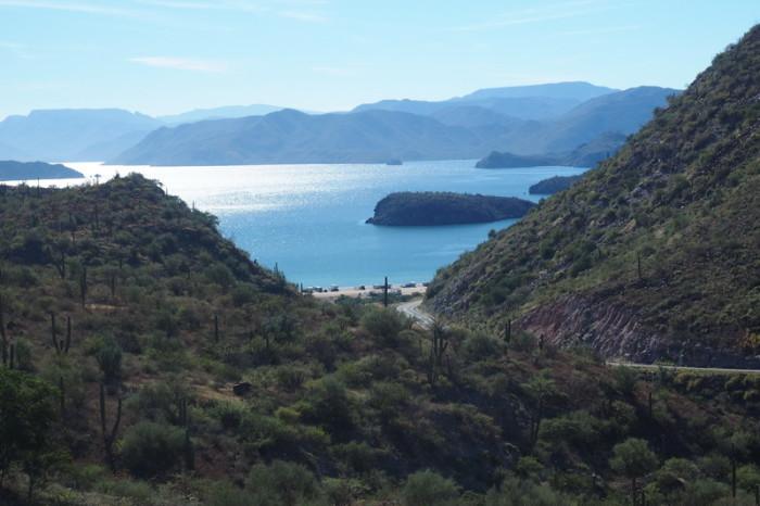 Baja California - Gorgeous coastal views on the way to Loreto