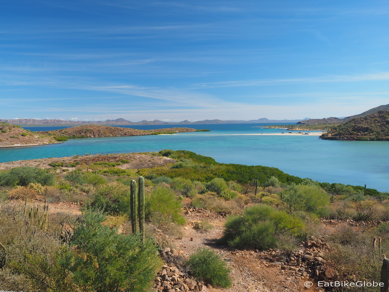 Beautiful beaches on the way to Loreto