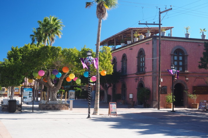 Baja California - The lovely town of Loreto