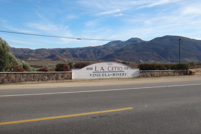 "Baja California - ""L.A Cetto"", Mexico's largest wine producer"