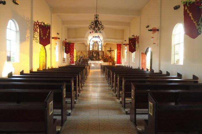Baja California - Inside Misión de Santa Rosa de Todos Santos, Todos Santos