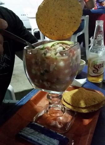 Baja California - Hmmm ... Ceviche